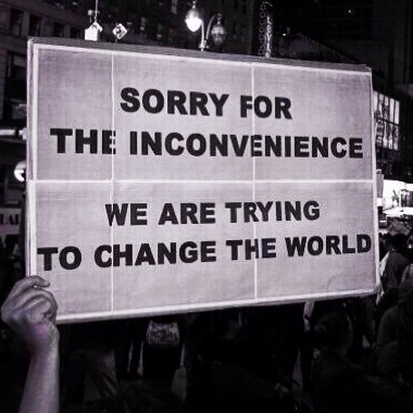 Inconvenience we are only trying to change the world lynette ntuli